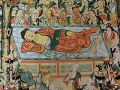 仏涅槃図(泉涌寺)