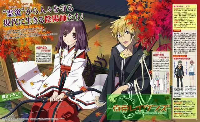 Anime Tokyo Ravens Poster