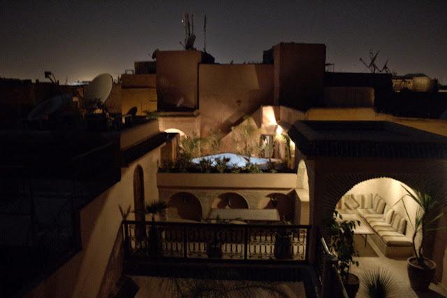 Habitacion riad bonheur marrakech