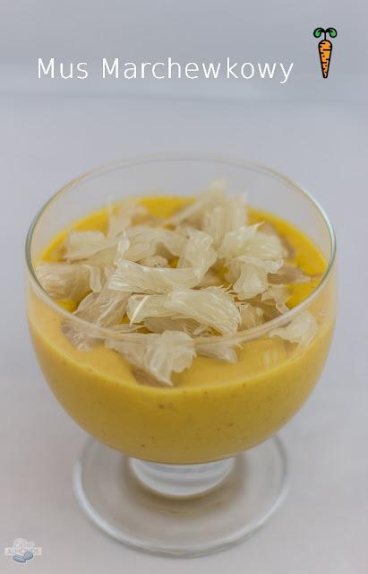 Roślinne przepisy Mus marchewkowy na słodko