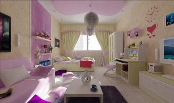 cuarto juvenil chica dormitorio