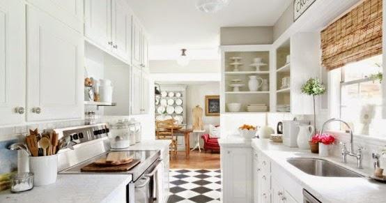 Piso xadrez na cozinha ~ Decora??o e Ideias - casa e jardim