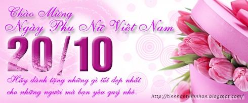 Những lời chúc 20-10 hay nhất tặng các chị em phụ nữ 2015