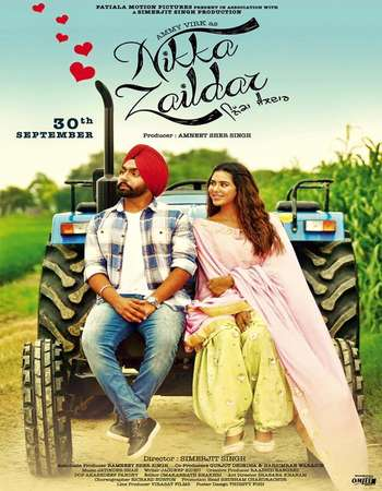 Poster Of Nikka Zaildar 2016 Punjabi 700MB pDVD XviD Watch Online Free Download downloadhub.net