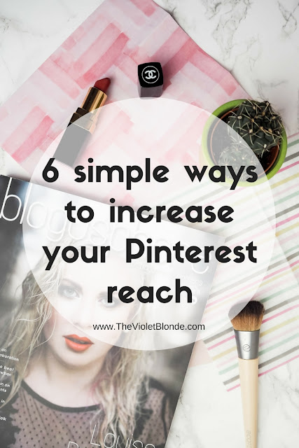 6 simple ways to increase your Pinterest reach
