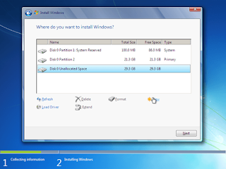 Tutorial Cara Install Ulang Windows 7 Lengkap + Gambar