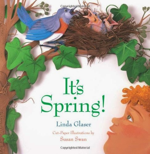 It's Spring!, part of children's book list about spring and changing seasons