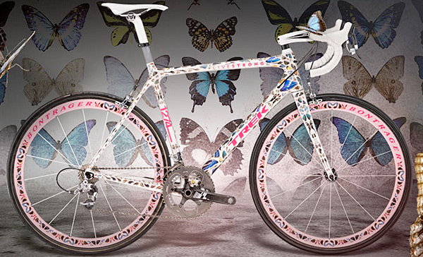Trek Butterfly Madone by damien hirst sepeda paling mahal di dunia