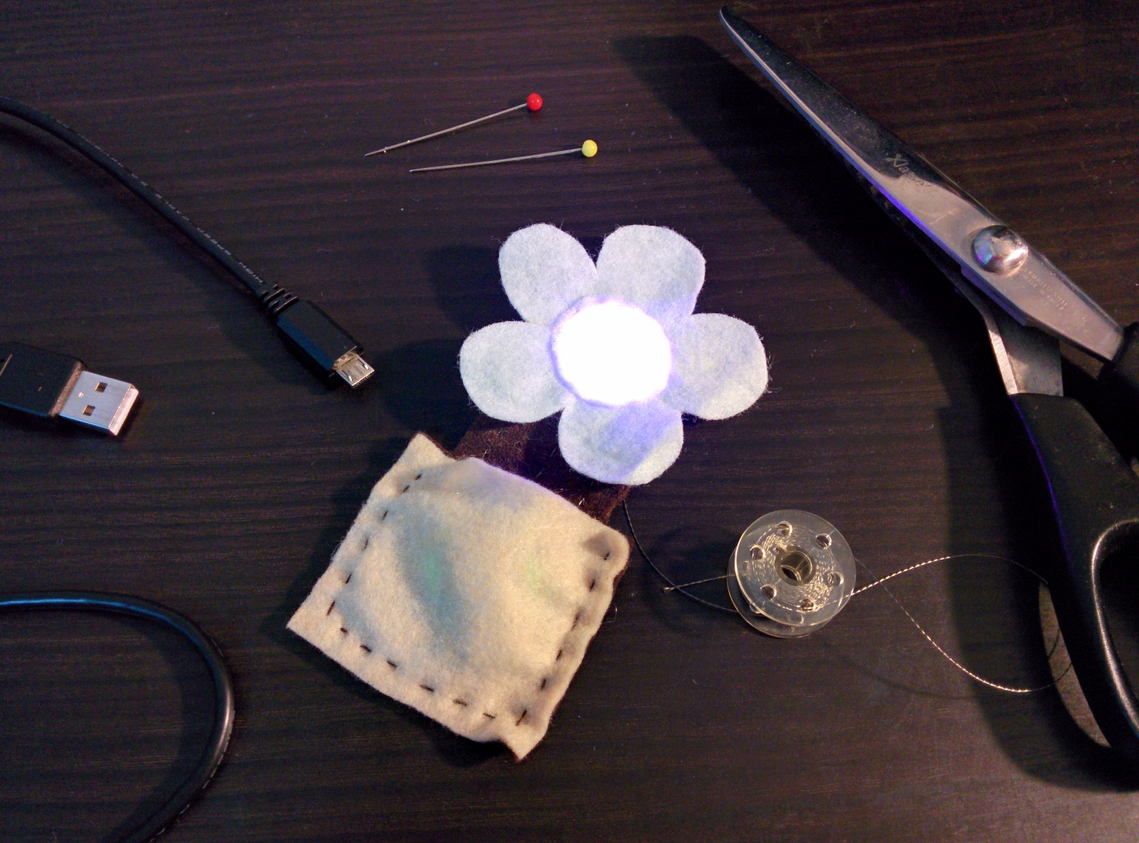 Random Project Lab: Softie Rainbow Flower