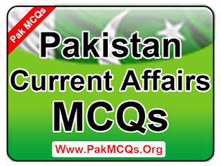 pakistan current affairs mcqs past paper