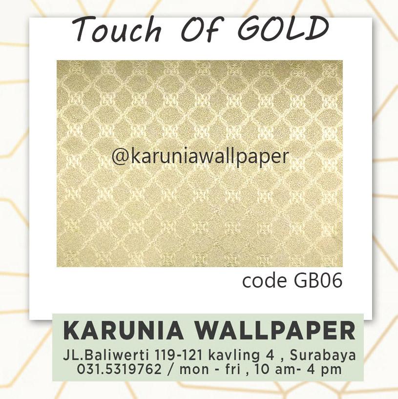 jual hiasan dinding wallpaper emas karuniawallpaper