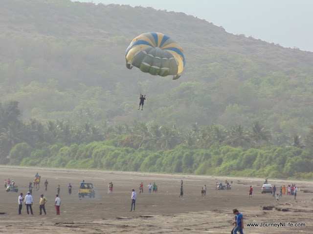 Weekend bike trip to Shrivardhan Beach from Pune