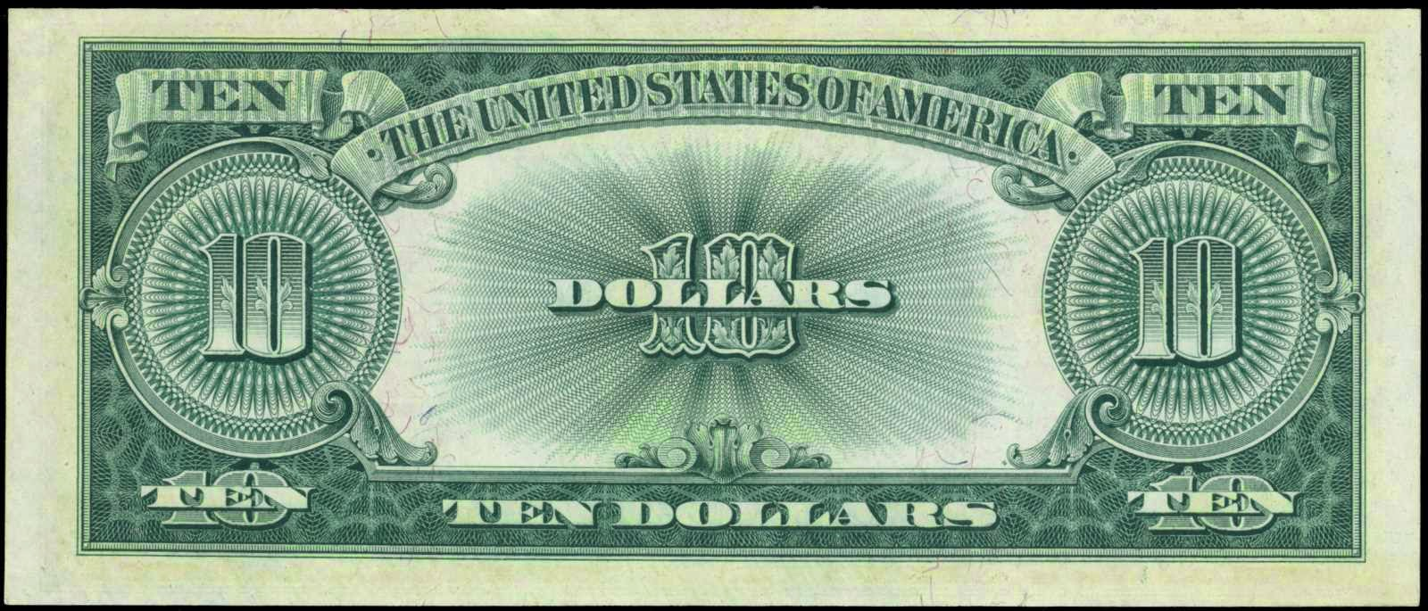 1923 10 Dollars Legal Tender Note