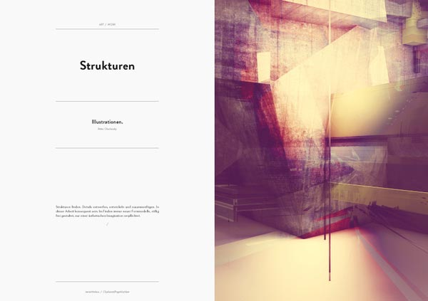 Margerasharma 30 Stylish Examples Of Layouts In Magazine