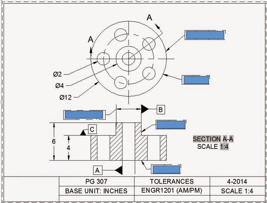 ENGR1304: Geometric Tolerances in CAD