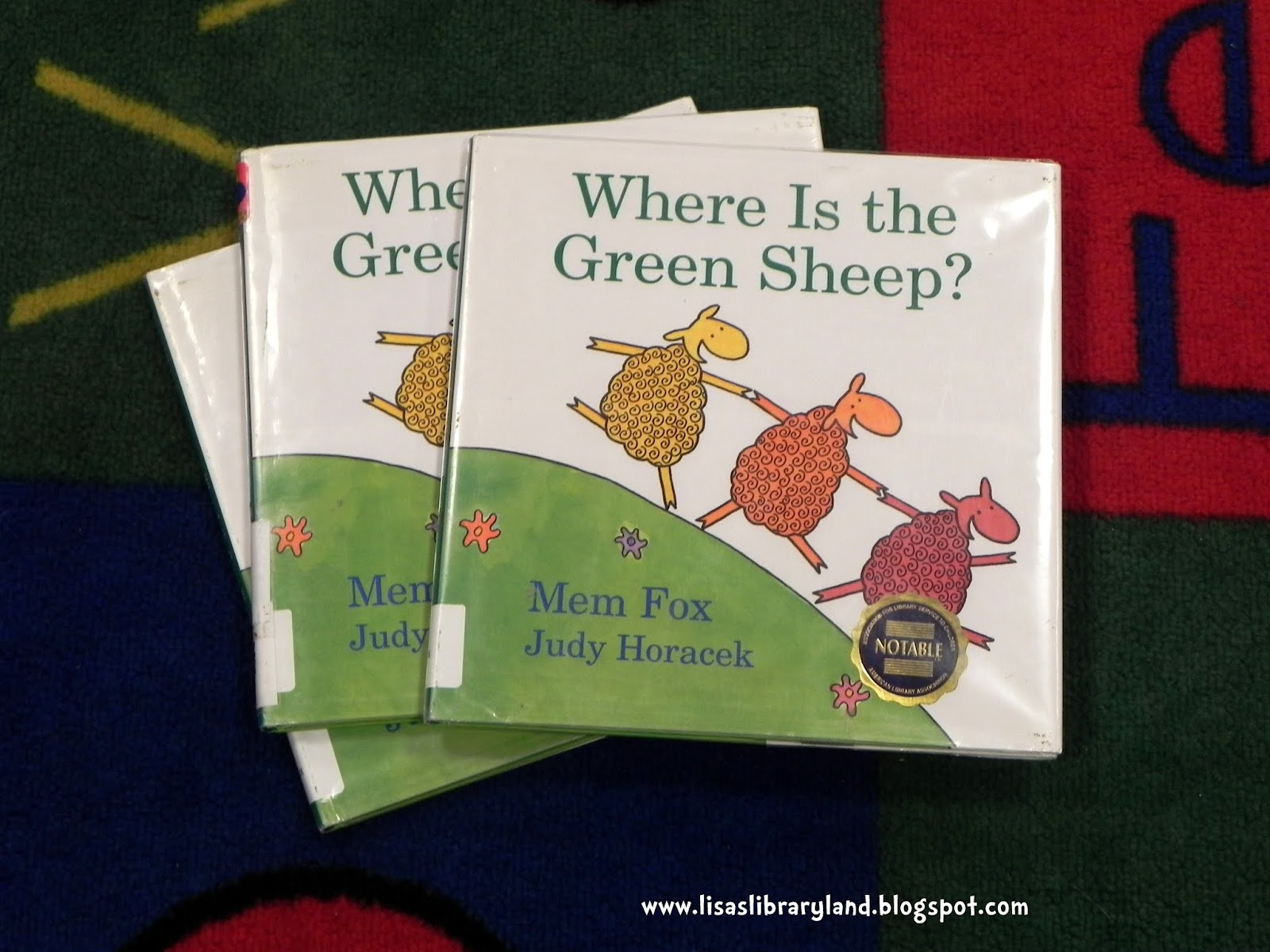 Libraryland Where Is The Green Sheep Play To Learn