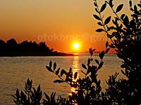 Zalazak sunca, Mirca-Mutnik otok Brač slike