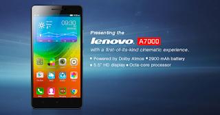 Diluncurkan Sebagai Kakak Dari Lenovo A6000 A7000 Ini Tentu Saja Dibekali Dengan Spesifikasi Dan Fitur Yang Lebih Bagus Komplit Dibandingkan