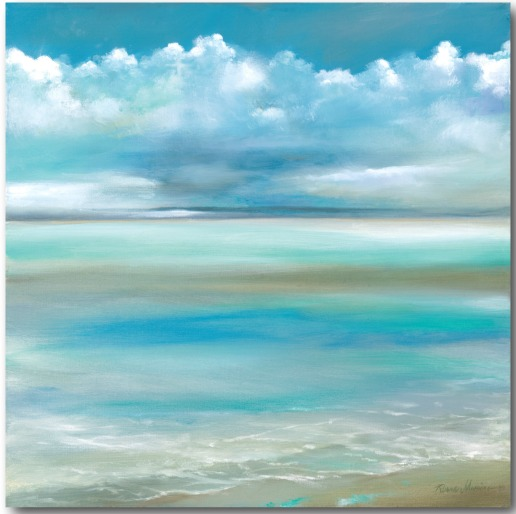 Ocean Beach Art Canvas