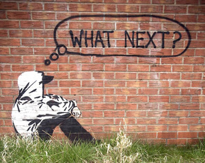 What's next graffitti- youth unemployment