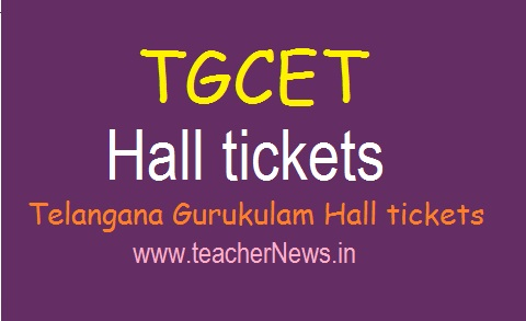 TGCET Hall tickets 2020 for 5th Class Admission Test | Telangana Gurukulam Hall tickets 2020