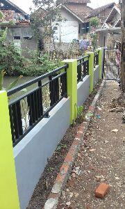 contoh pagar besi minimalis model 8