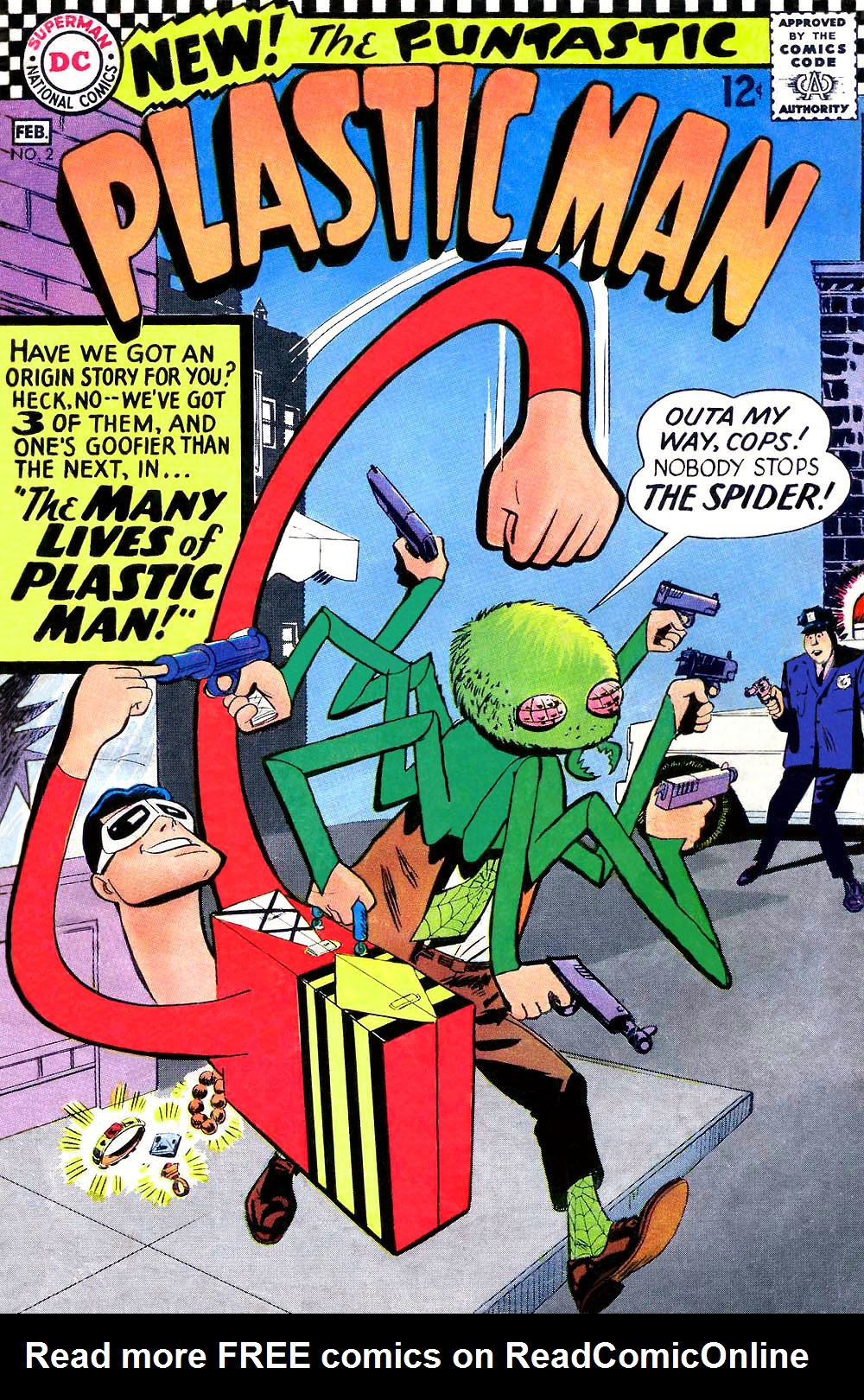 Plastic Man (1966) issue 2 - Page 1