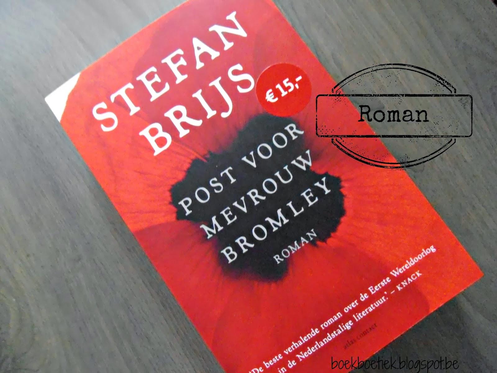 Citaten Post Voor Mevrouw Bromley : Boekboetiek recensie post voor mevrouw bromley stefan