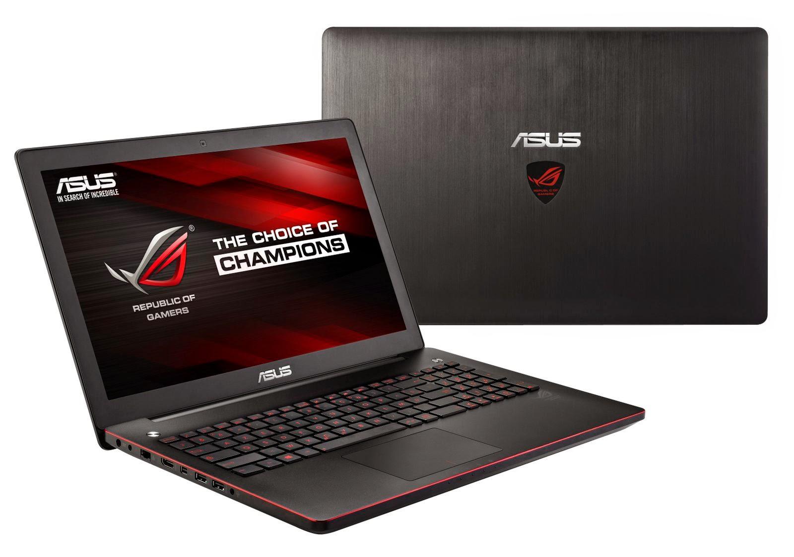 Review Asus ROG G550JK , Premium Class Gaming Notebook