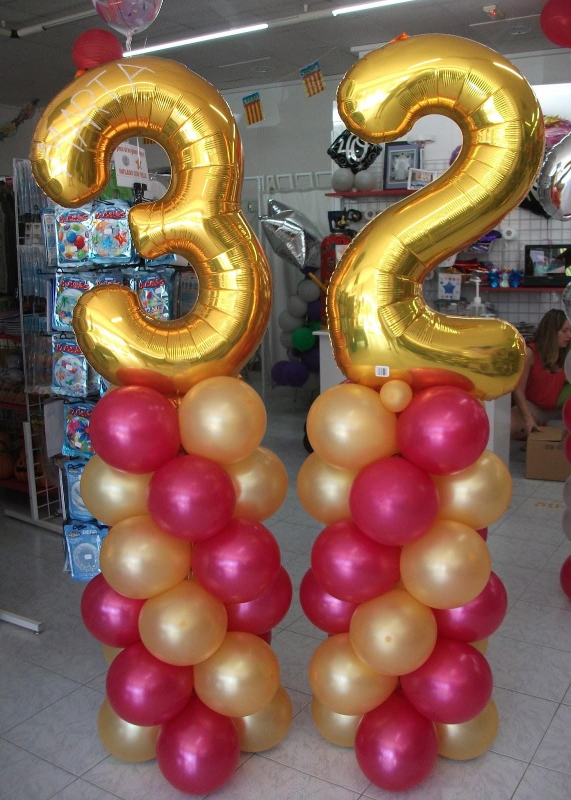 Decoraci n con globos de todo fiesta decoraciones para - Fiesta cumpleanos adulto ...