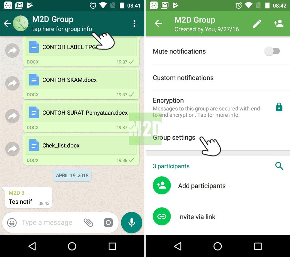 Mencegah Anggota Grup WhatsApp Mengganti Nama, Foto, dan Deskripsi ...