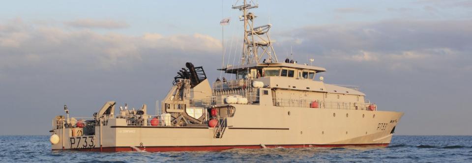 Франція ввела в експлуатацію третій OPV класу La Confiance