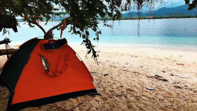 Island of Potipot Candelaria, Zambales Philippines