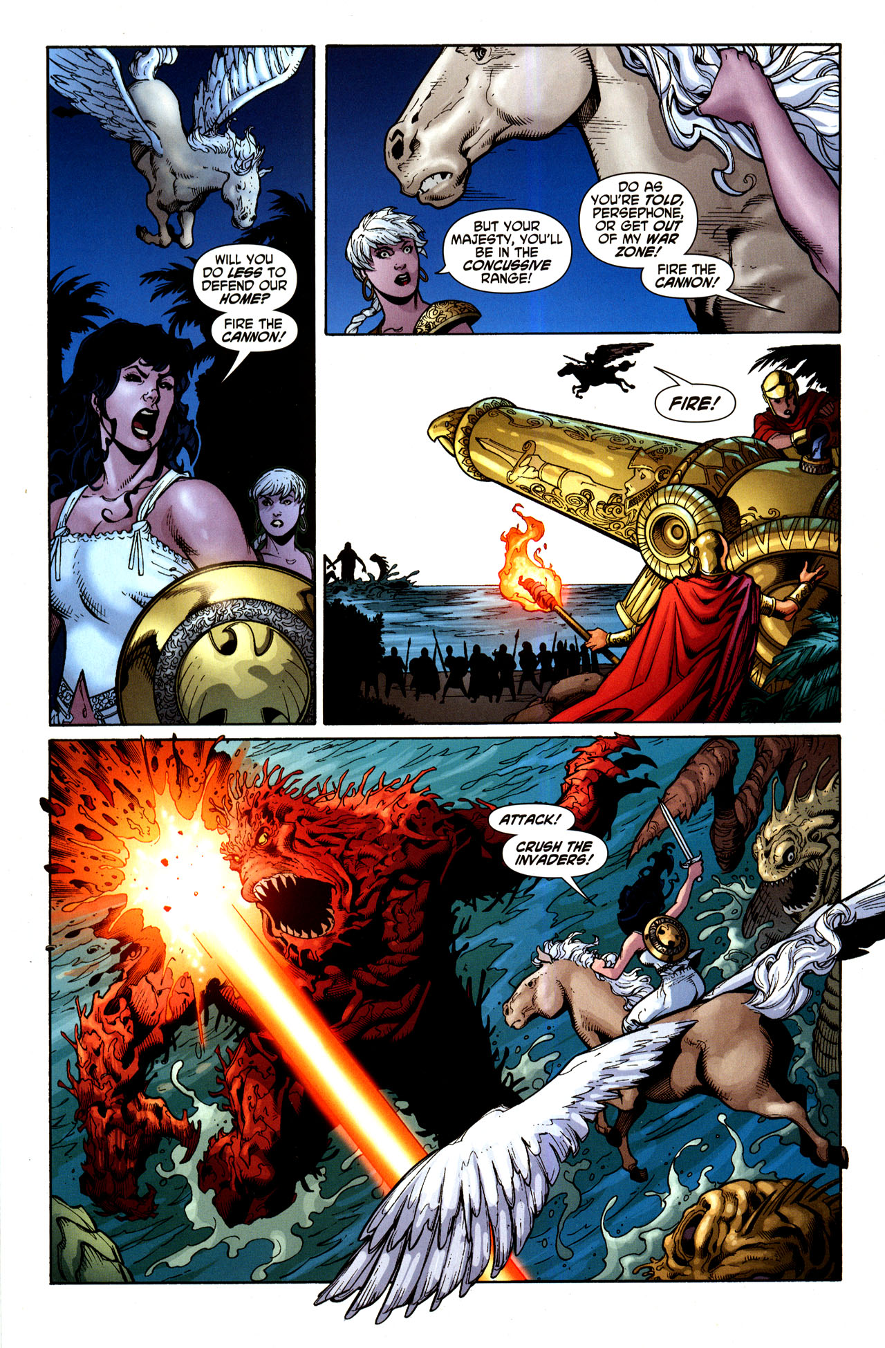 Read online Wonder Woman (2006) comic -  Issue #33 - 9