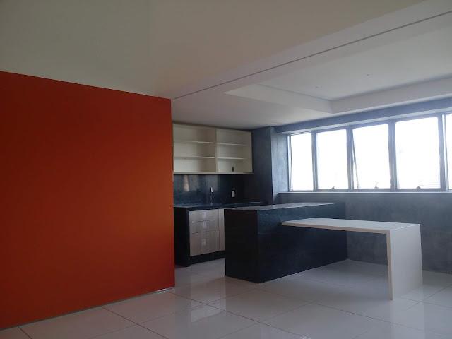 Pintura nova em apartamento