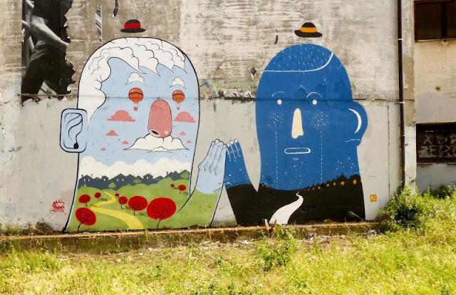 Уличный художник из Италии. Агостино Якурчи (Agostino Iacurci) 25