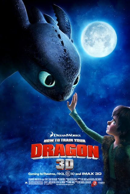 How to Train Your Dragon 3D - Movie Poster