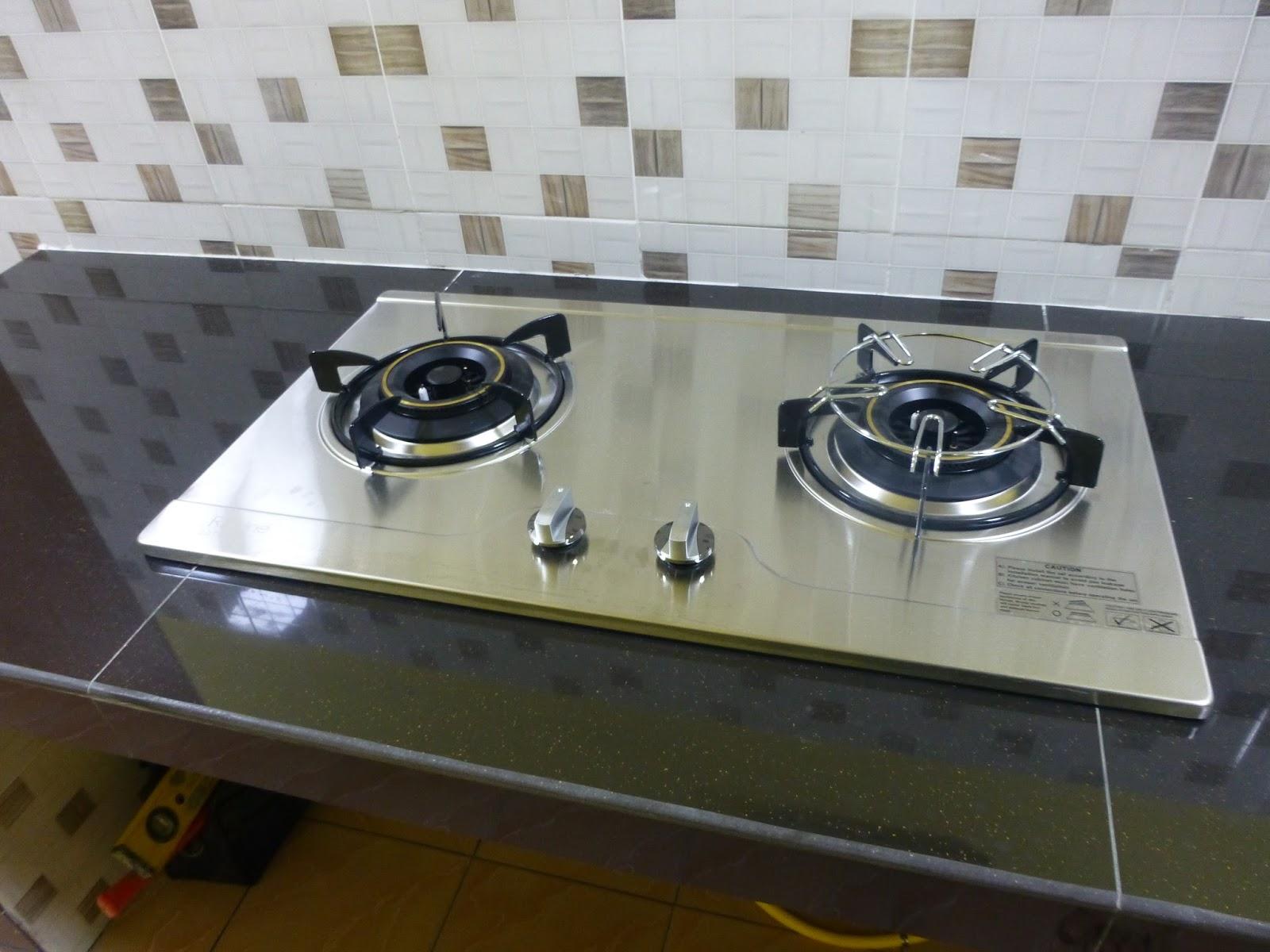Dapur Gas Stainless Steel Terbaik