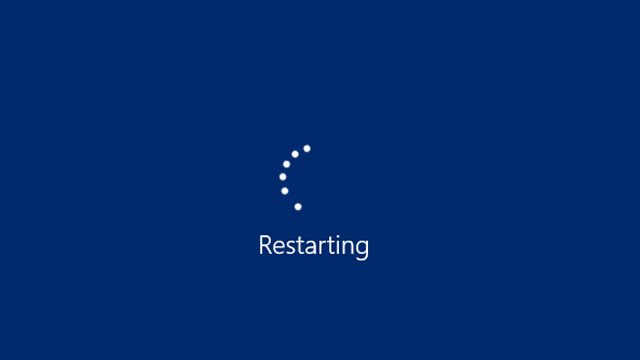 Laptop Restart Lama
