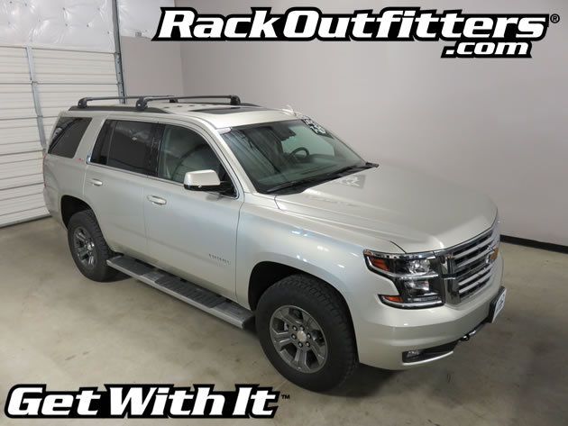 Rack Outfitters Chevrolet Tahoe Thule Black Aeroblade