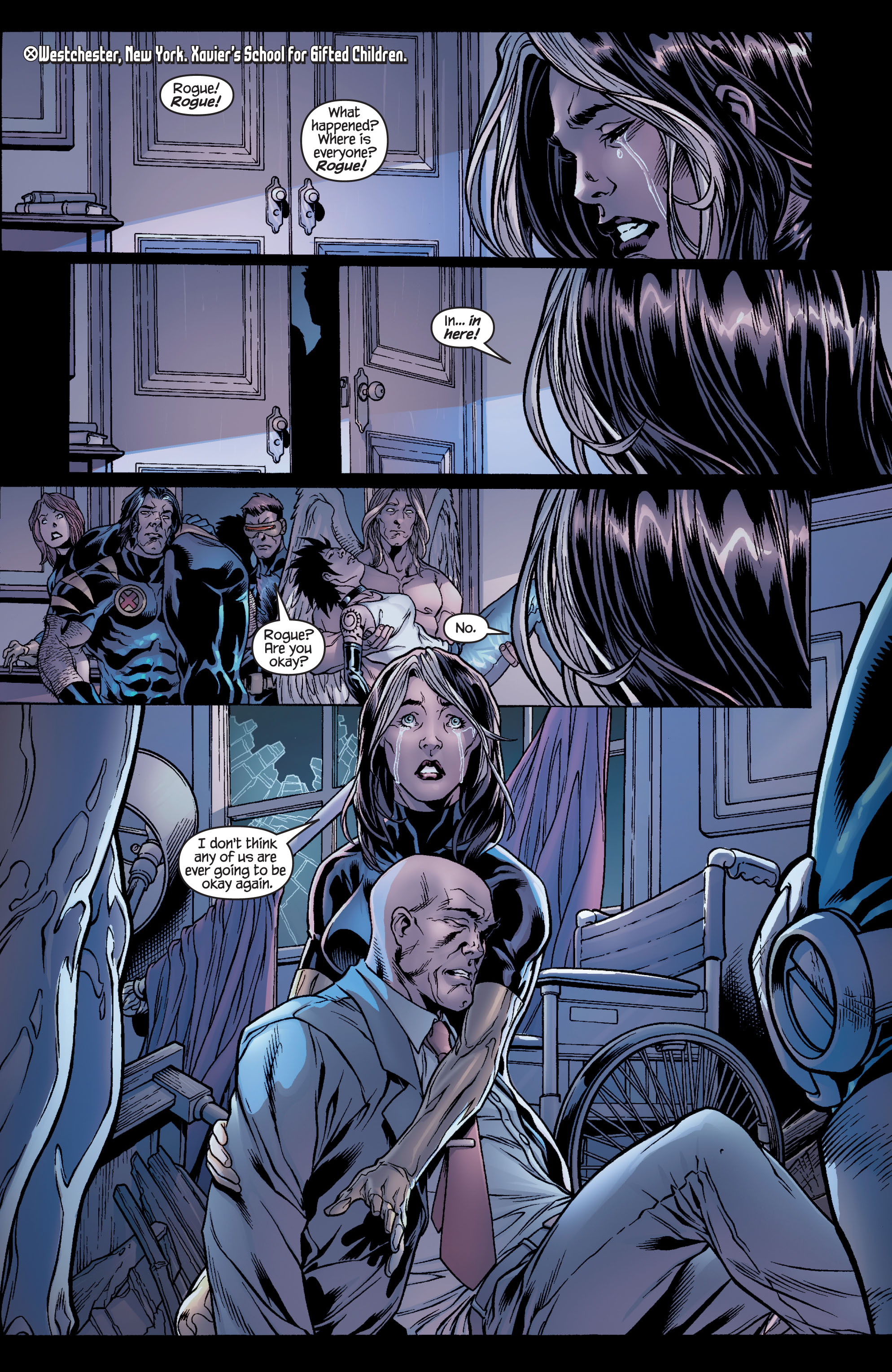 Read online Ultimate X-Men comic -  Issue #100 - 6
