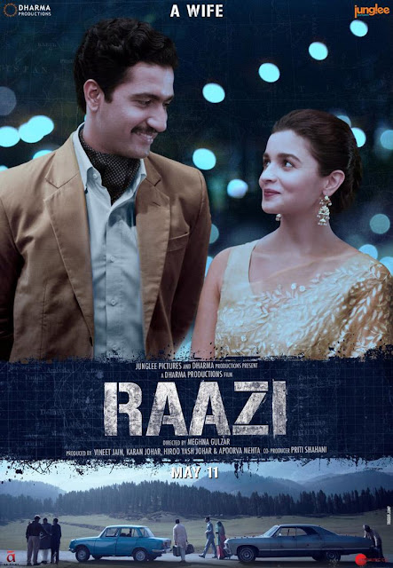 Raazi Movie Poster Out, Raazi Movie First Look & Poster