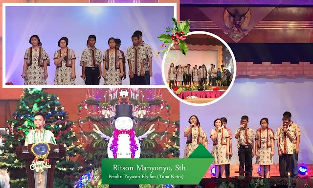 Perayaan Natal 2015 bersama Kementerian Pariwisata