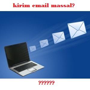 mengirim surat lamaran kerja via email secara massal
