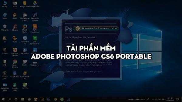 Tải phần mềm Adobe Photoshop CS6