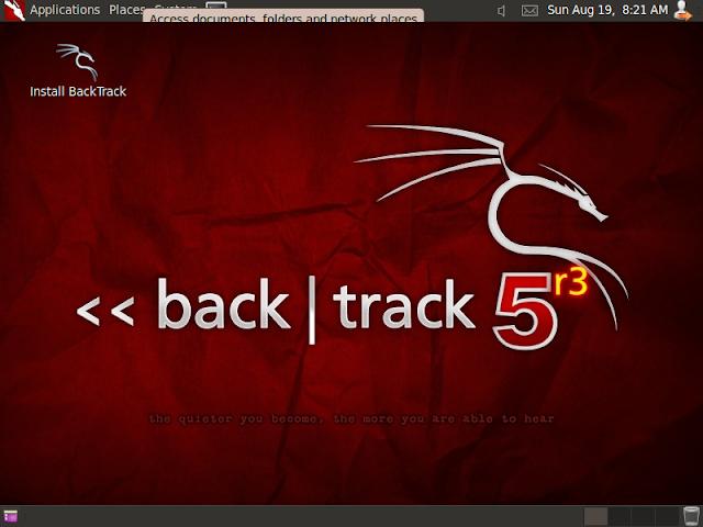Installing backtrack 5 R3