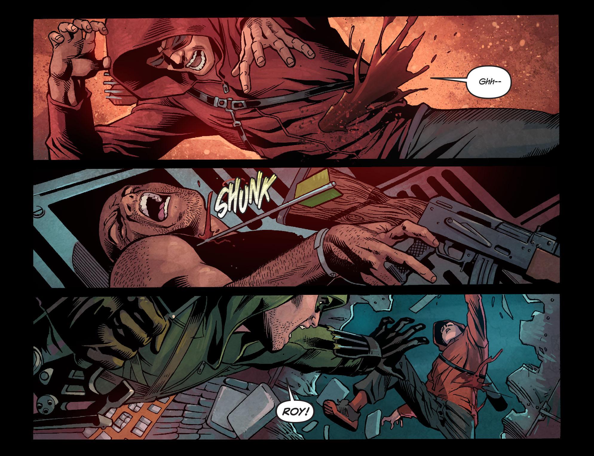 Read online Arrow: Season 2.5 [I] comic -  Issue #1 - 21