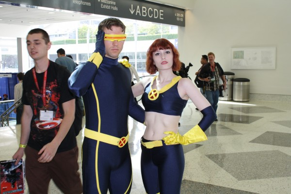 SCott and Jane Xmen Cosplay