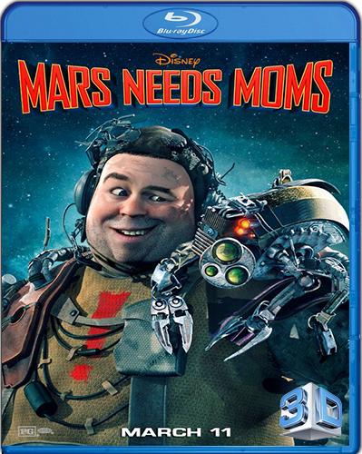 Mars Needs Moms! [2011] [BD50] [3D] [Latino]