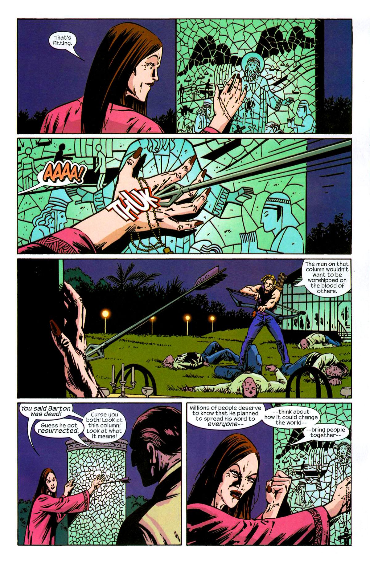 Hawkeye (2003) Issue #6 #6 - English 20